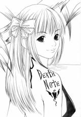 [Bone China] Misa Note (Death Note)-