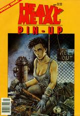 Heavy Metal Special - Pin-Up's - Vol.8-1(1994-06) [English]-
