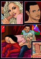 Sinful Comics - Britney Spears Comic-