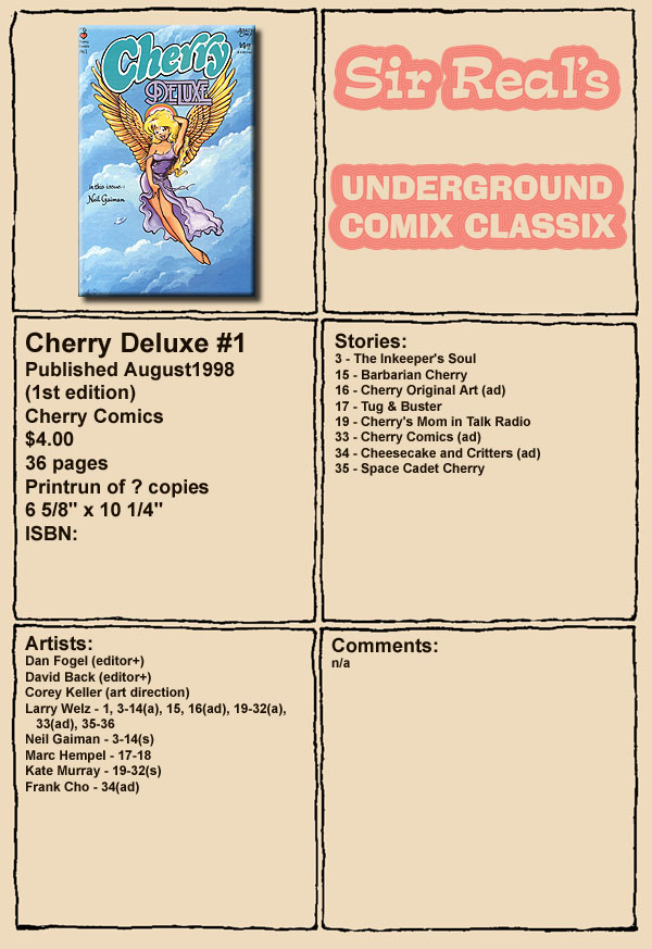 Cherry Deluxe #1 ENG (incest)