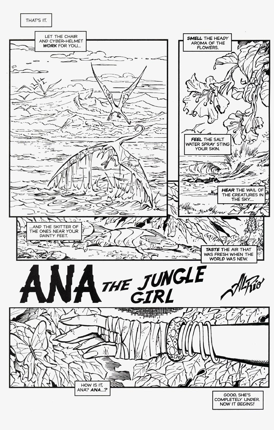 [Al Rio] Ana - Jungle Girl [English]